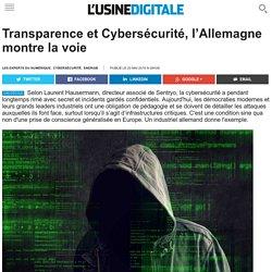 Transparence et Cybersécurité, l'Allemagne montre la voie