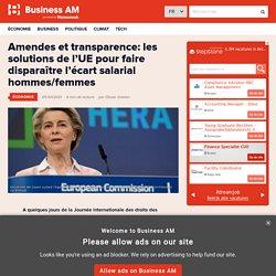 Amendes et transparence: les solutions de l'UE pour faire disparaître l'écart salarial hommes/femmes
