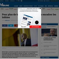 Pour plus de transparence, Bercy va encadrer les lobbies