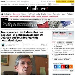 Transparence des indemnités des députés : la pétition que tous les Français pourraient signer