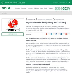 Improve Process Transparency and Efficiency