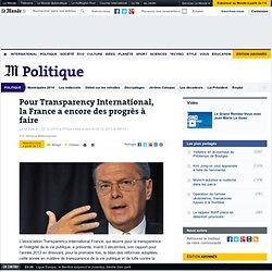 Pour Transparency International, la France a encore des progrès à faire