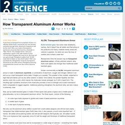 ALON: Transparent Aluminum Armor