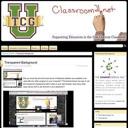 Transparent Background » Classroom21