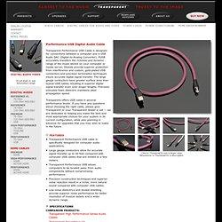 Transparent Audio - Transparent Cable Digital Audio Cables and Digital Video Cables
