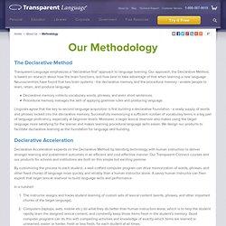 Language Learning Methodology