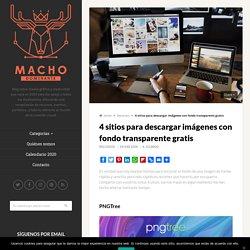 4 sitios para descargar imágenes con fondo transparente gratis – Blog de diseño gráfico y creatividad