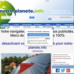 Des tuiles transparentes pour capter l'énergie solaire sur les toits