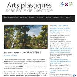 Les transparents de CARMONTELLE – Arts plastiques