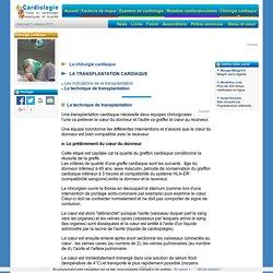 Transplantation cardiaque : Déroulement de l'intervention