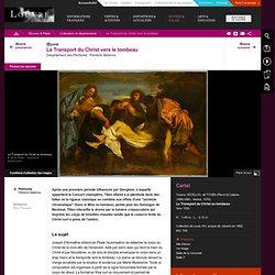 Peinture du Titien: Le Transport du Christ vers le tombeau