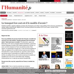 Le transport low cost est-il le modèle d'avenir ?