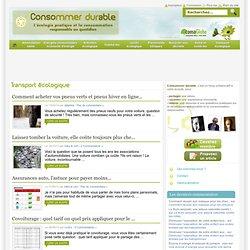 Transport écologique « Consommer Durable