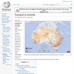 Transport in Australia