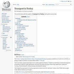 Transport in Turkey