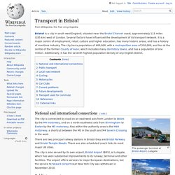 Transport in Bristol - Wikipedia