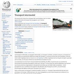 Transport intermodal