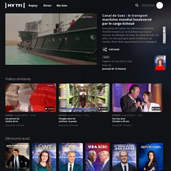 Canal de Suez : le transport maritime mondial bouleversé par le cargo échoué - Journal de 13 heures