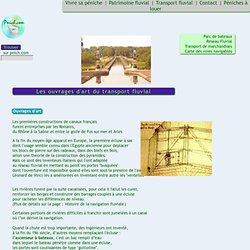 Transport fluvial - Les ouvrages d'art, écluses et ascenseurs a bateaux