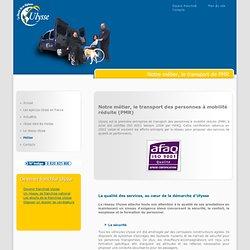 Ulysse - Transport des personnes à mobilité réduite (PMR)