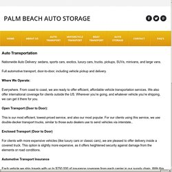 Auto Transport Quotes New Jersey