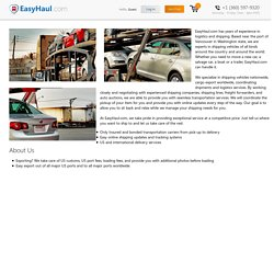 Auto Transport & Vehicle Shipping Company - EasyHaul