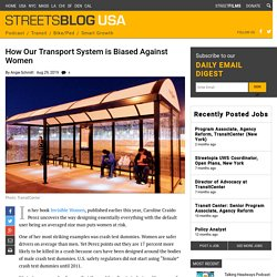 How Our Transport System is Biased Against Women