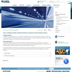 Transport & Technology Systems