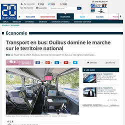 Transport en bus: Ouibus domine le marche sur le territoire national