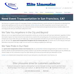 Sports events transportation San Francisco Bay Area