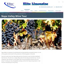 Napa Valley Transportation San Francisco