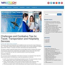 BPO Services for Travel, Transportation and Hospitality