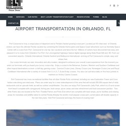 Airport Transportation Services in Orlando, FL