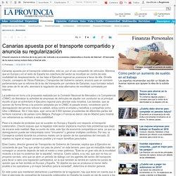 Canarias apuesta por el transporte compartido y anuncia su regularización