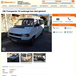 VW Transporter T4 aménagé bon état général Voitures Pyrénées-Atlantiques