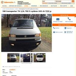VW transporter T4 2,5L TDI 5 cyldres 102 ch 7(9) p Voitures Pyrénées-Atlantiques
