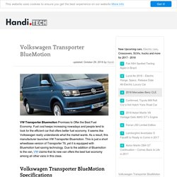 VW Transporter BlueMotion Specs Release Date Price in the UK