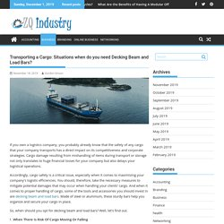 Transporting a Cargo: Situations when do you need Decking Beam and Load Bars?