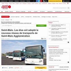 Saint-Malo. Les élus ont adopté le nouveau réseau de transports de Saint-Malo Agglomération -