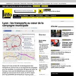 Lyon : les transports au cœur de la campagne municipale