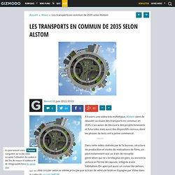 Les transports en commun de 2035 selon Alstom