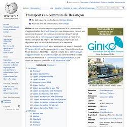 Transports en commun de Besançon