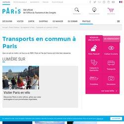 Office de tourisme Paris , Transports en commun