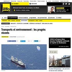 Transports et environnement : les progrès récents
