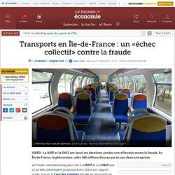 Transports en Île-de-France: un «échec collectif» contre la fraude