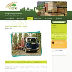 Transports de bois ronds