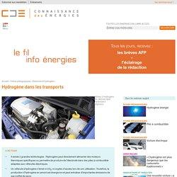 Hydrogène et transports : technologies existantes, sûreté et enjeux