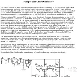 Art's Theremin Page: Transposable Chord Generator