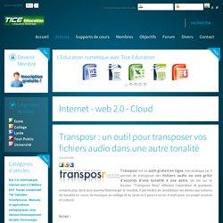 Transposr : un outil pour transposer vos fichiers audio dans une autre tonalité