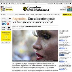 Une allocation pour les transsexuels lance le débat